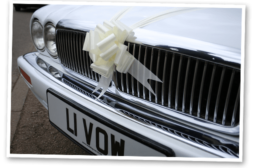 Grill of the Jaguar XJ