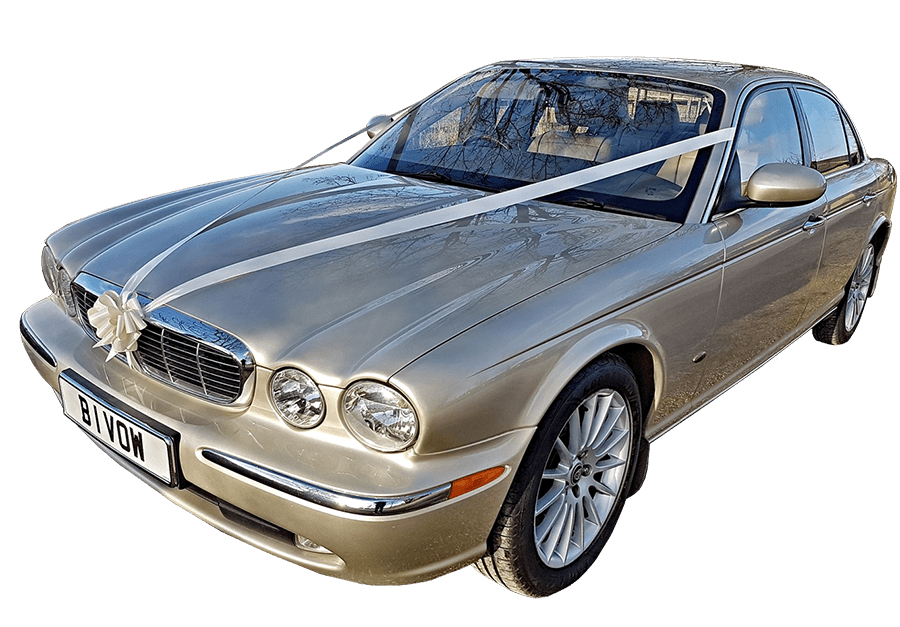 Jaguar Xj Executive Champagne Gold Overview Wedding Car Co Uk