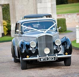 Arriving in convoy, the classic Bentley leading. Photo by Laura Rachel Photography - http://www.laurarachel.co.uk