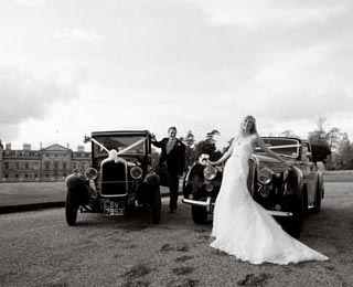 Enjoy even better wedding photos with our 2 car packages. Photo by Laura Rachel Photography - http://www.laurarachel.co.uk