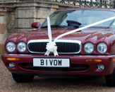 The curvaceous bonnet of the Jaguar XJ helps it to retain it's classic pedigree. Photo by Just-Shoot-Me Photography - http://www.just-shoot-me.co.uk