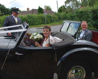 Our top priority is to make sure you can enjoy the cars on your special day.