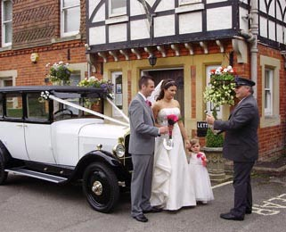Our chauffeurs are experienced and can help guide you through your special day. Photo by Laura Rachel Photography - http://www.laurarachel.co.uk